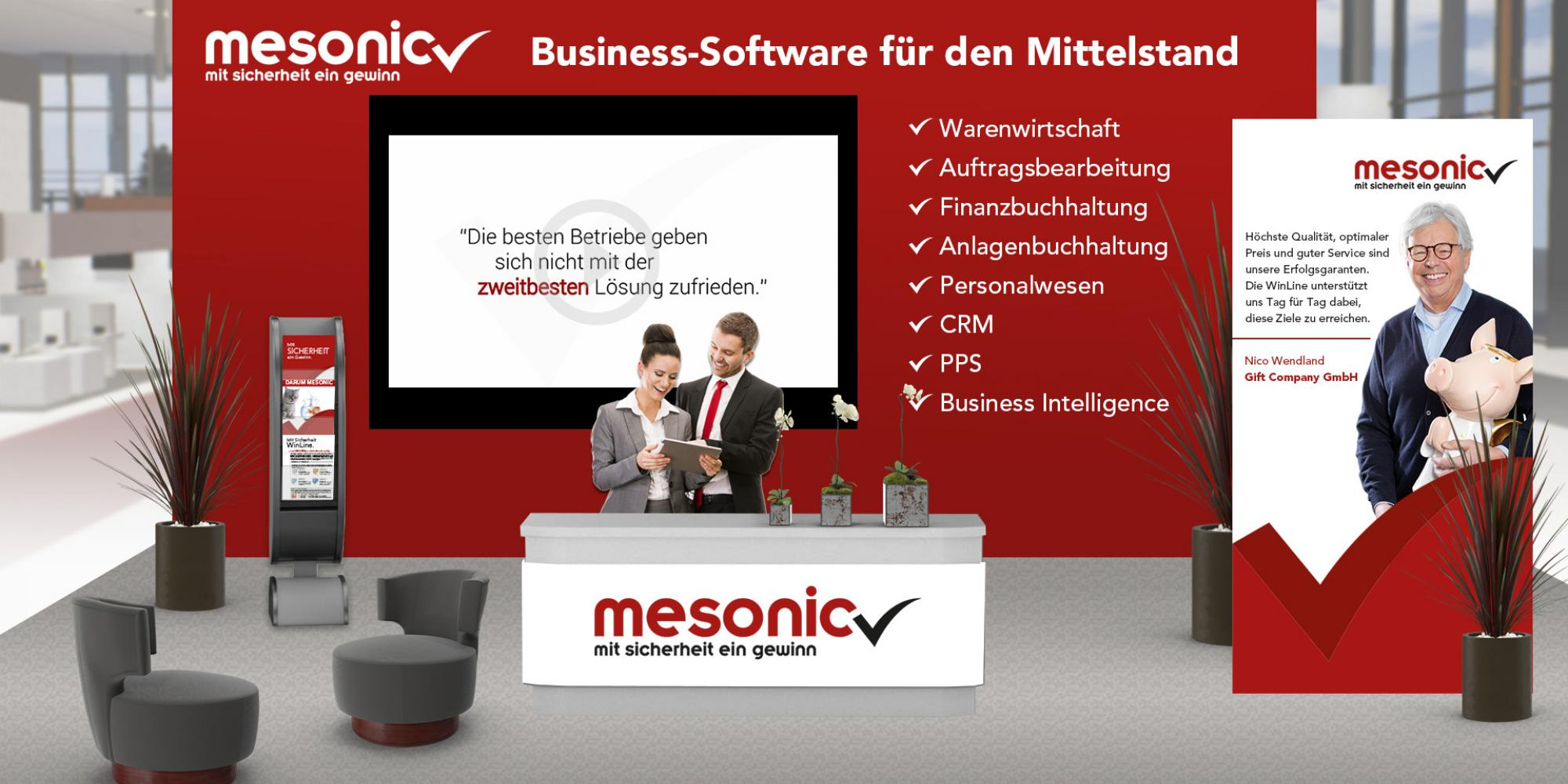 Dimitex-Messestand